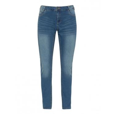 Slim Fit Jeans mit Waschung