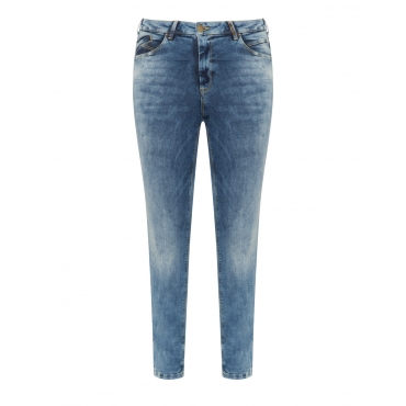 Slim Fit Jeans Molly im Used-Look