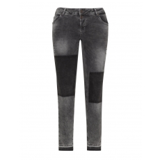 Slim Fit Jeans Sanna im Washed-Out-Look