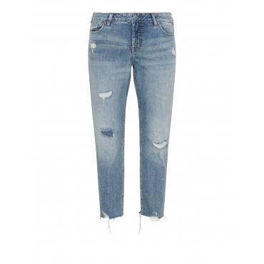 Slim Fit Jeans Suki im Destroyed-Look