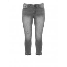 Slim Jeans Karen light wash destroyed