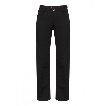 Straight Cut Jeans Gemma mit Deko-Knopf