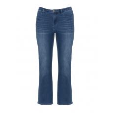 Straight Cut Stretch-Jeans mit Waschung
