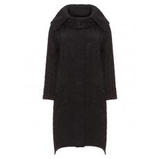 Struktur-Mantel aus Baumwollmix