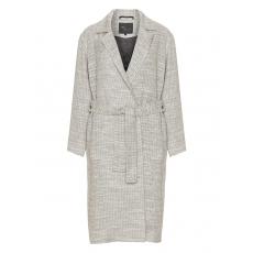 Strukturierter Mantel aus Baumwollmix