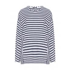 Sweatshirt im Streifen-Design