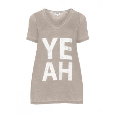 T-Shirt mit Wording-Print