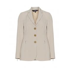 Taillierter Blazer mit Zipperdetails