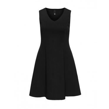Tailliertes Neopren-Kleid