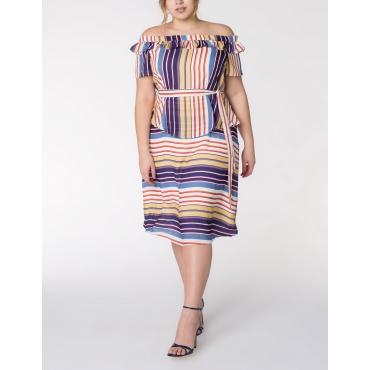 Tailliertes Sommerkleid