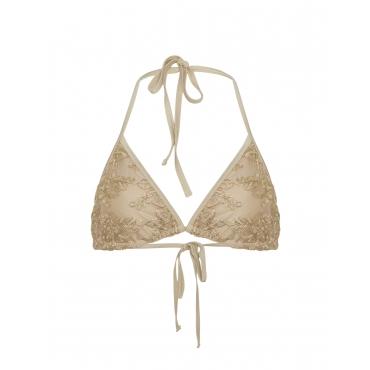 Triangle-Bikini-Top aus Spitze