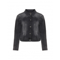 Washed-Out-Jeansjacke