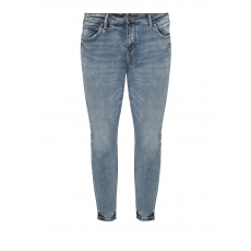 Washed-Out-Look-Slim Fit Jeans