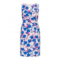 Wickeloptik-Kleid mit Blumen-Print