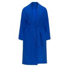 Wollmix-Mantel mit Schalkragen