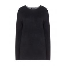 Wollmix-Pullover in Bicolour-Optik