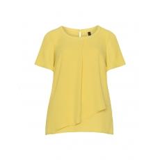 Zweilagiges Blusenshirt aus Chiffon