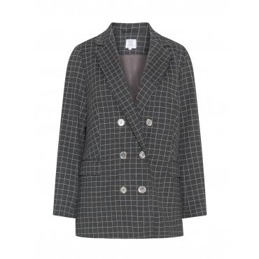 Zweireihiger Punto-Jersey-Blazer