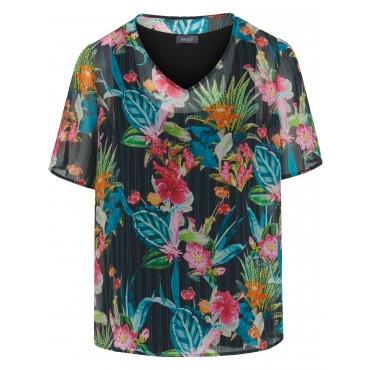 2-in-1-Bluse zum Schlupfen Basler mehrfarbig