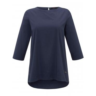 Bluse 3/4-Arm Emilia Lay blau