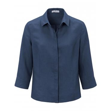 Bluse 3/4-Arm Peter Hahn blau