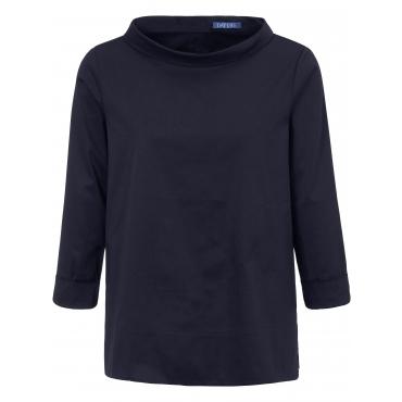 Bluse 7/8-Arm DAY.LIKE blau