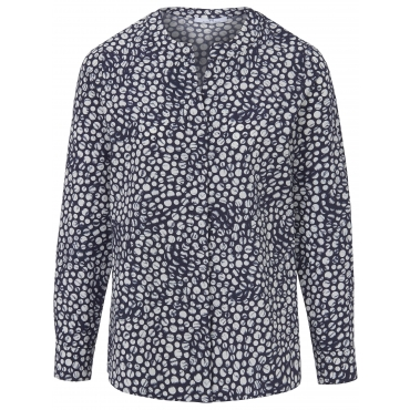 Bluse aus 100% Baumwolle Peter Hahn mehrfarbig