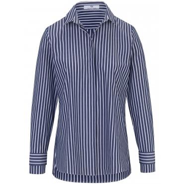 Bluse Hemdkragen Peter Hahn mehrfarbig