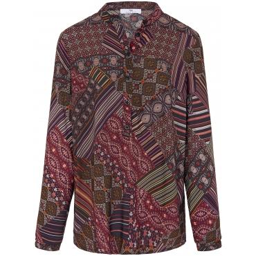Bluse im Tunika-Stil Peter Hahn mehrfarbig
