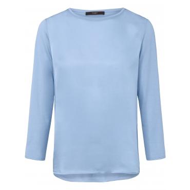 Blusen-Shirt 3/4-Arm Windsor blau
