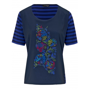Blusen-Shirt Looxent blau