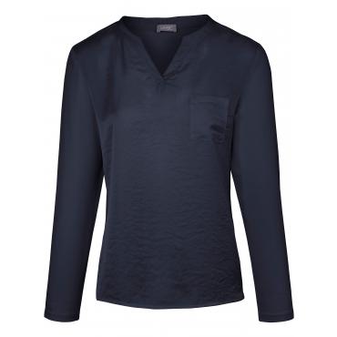 Blusen-Shirt MYBC blau