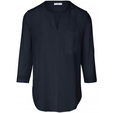 Blusen-Shirt Peter Hahn blau