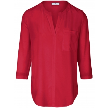 Blusen-Shirt Peter Hahn rot