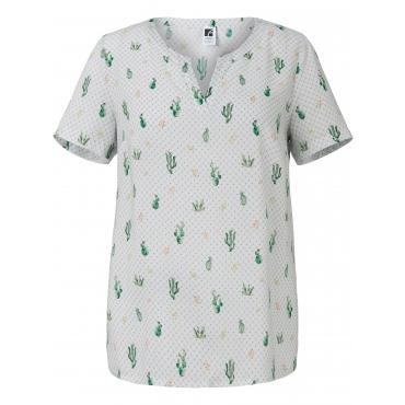 Blusen-Shirt Rundhals Anna Aura mehrfarbig