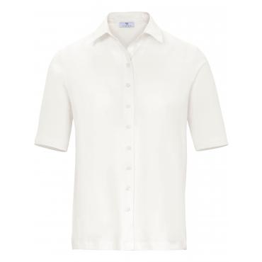 Jersey-Bluse 1/2-Arm Peter Hahn beige