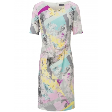 Jersey-Kleid 1/2-Arm Basler mehrfarbig