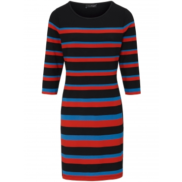 Jersey-Kleid 3/4-Arm Looxent mehrfarbig