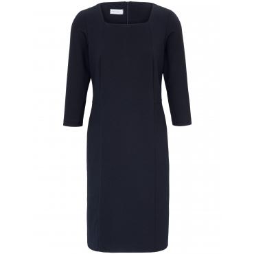 Jersey-Kleid 3/4-Arm Peter Hahn blau