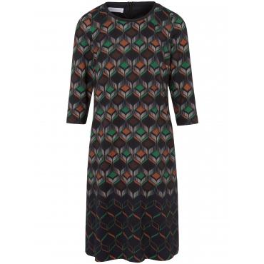 Jersey-Kleid 3/4-Arm St. Emile mehrfarbig