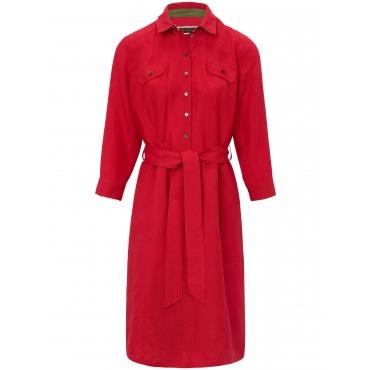 Kleid aus 100% Leinen Schneiders Salzburg mehrfarbig