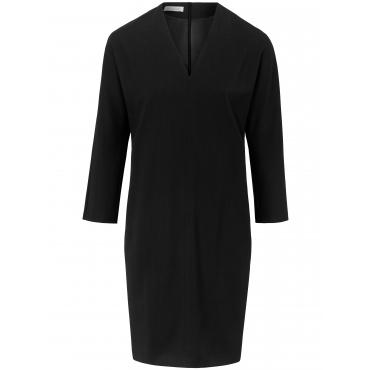 Kleid aus 100% Schurwolle Natural Stretch St. Emile schwarz