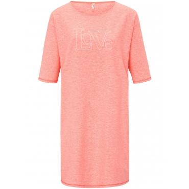 Kleid längerem 1/2-Arm Puro orange