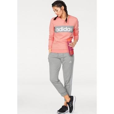 adidas Performance Jogginganzug, grau-rosé, Gr.L-XXL