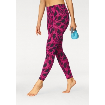 adidas Performance Leggings »ESSENTIALS ALL OVER PRINT TIGHT«, pink, Gr.L-XXL