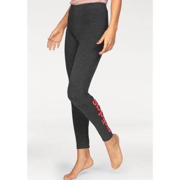 adidas Performance Leggings »ESSENTIALS LINEAR TIGHT«, grau-koralle, Gr.L-XXL