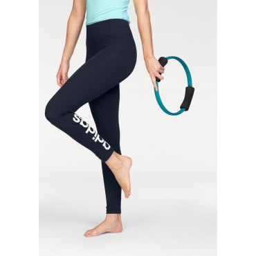adidas Performance Leggings »ESSENTIALS LINEAR TIGHT«, marine-weiß, Gr.L-XXL