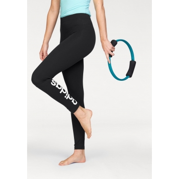 adidas Performance Leggings »ESSENTIALS LINEAR TIGHT«, schwarz-weiß, Gr.L-XXL