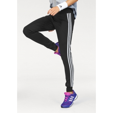 adidas Performance Sporthose »D2M CUFF PANT 3S«, schwarz-weiß, Gr.L-XXL