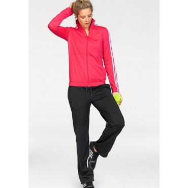 adidas Performance Trainingsanzug »BACK2BASIC 3S TRACKSUIT« (Set, 2 tlg.), koralle-schwarz, Gr.L-XXL